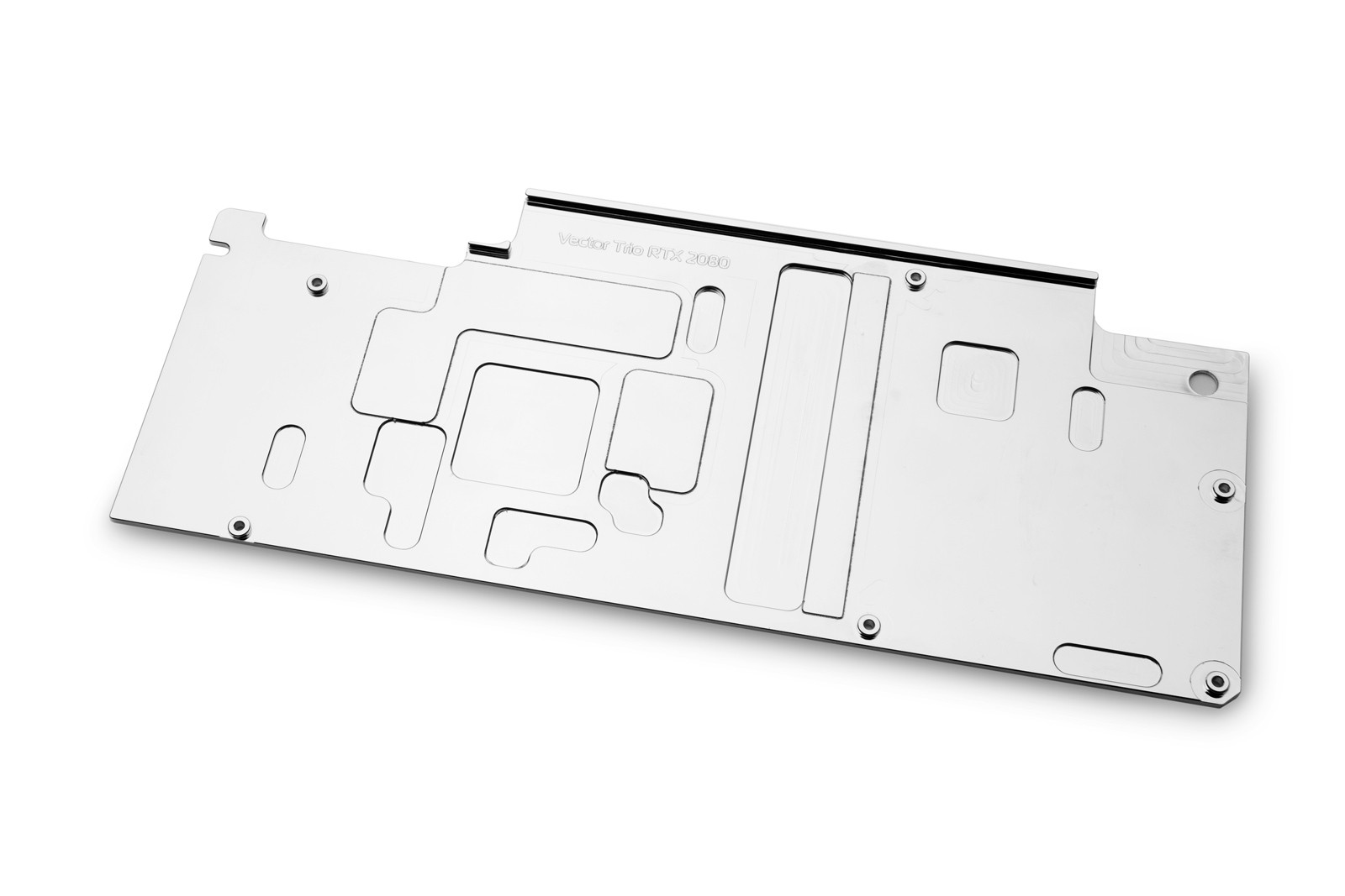 EK WaterBlocks EK-Vector Trio RTX 2080 Backplate - Nickel
