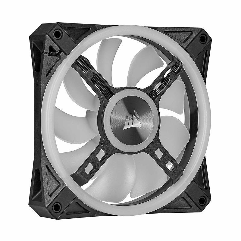 CORSAIR QL120 RGB 120mm PWM シングルファン