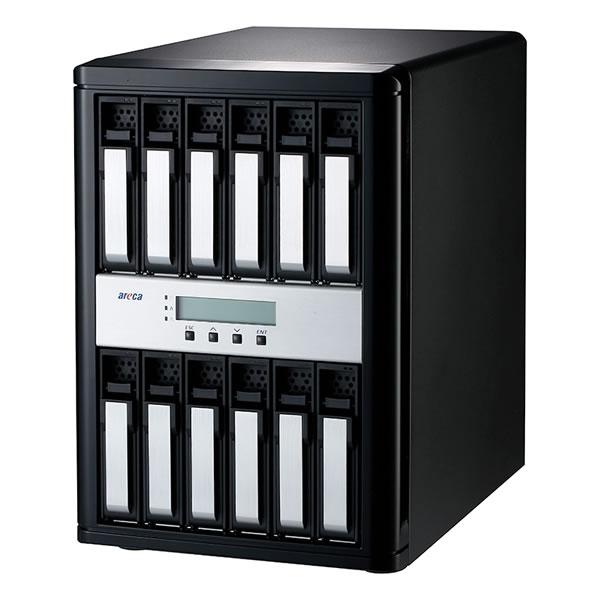 areca ARC-8042-12 12G SAS対応 12ベイRAIDケース