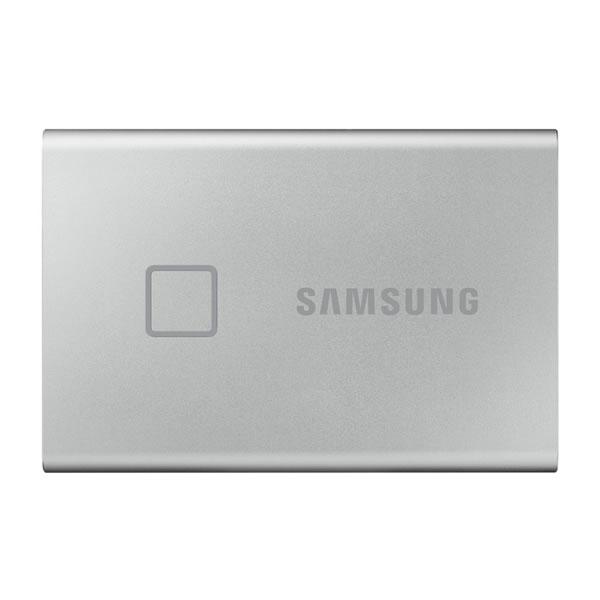 SAMSUNG MU-PC2T0S/IT 2TB シルバー Portable SSD T7 Touch シリーズ