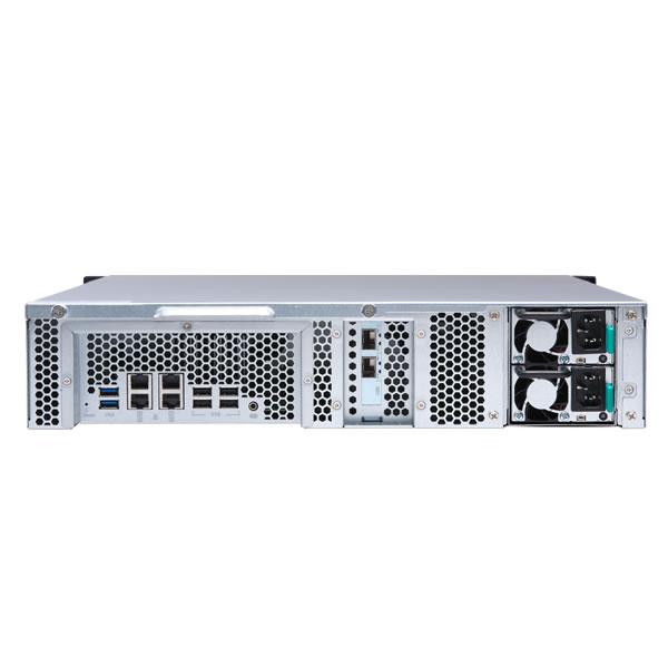 QNAP TS-1273U-RP-8G 12ベイ ラックマウントNASキット