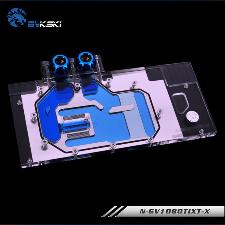 Bykski N-GV1080TIXT-X GIGABYTE AORUS GTX 1080 Ti GPU blocks