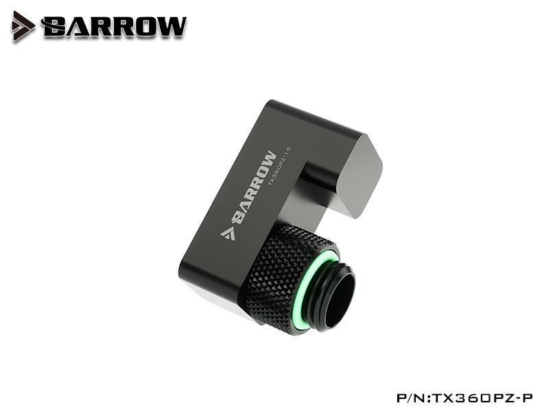 BARROW G1/4' 360°rotation offset adapter POM portable edition 15MM