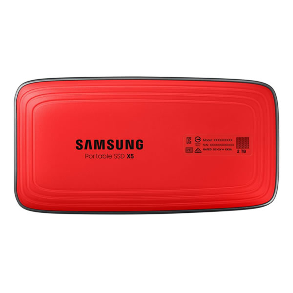 Samsung MU-PB500B/IT 500GB Portable SSD X5 Thunderbolt 3 (40 Gbps)