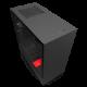 NZXT H510i マットブラック/レッド (CA-H510I-BR)