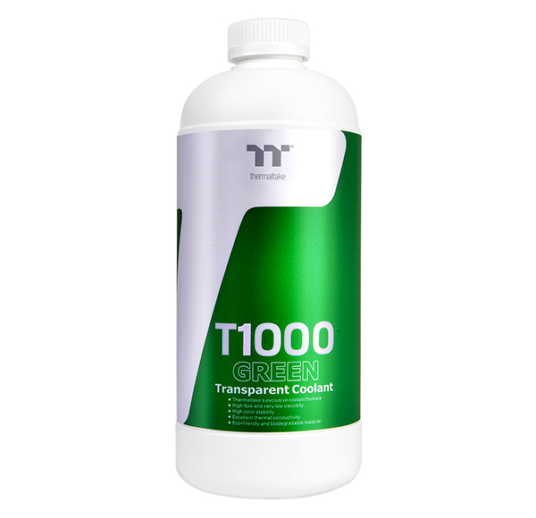 Thermaltake T1000 Transparent Coolant Green 1000ml (CL-W245-OS00GR-A)