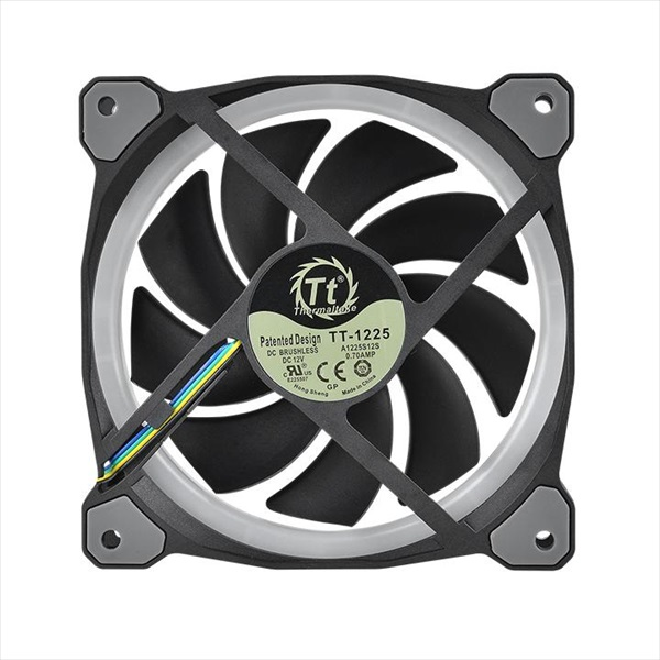 Thermaltake Riing Plus 12 RGB Radiator Fan TT Premium Edition Single Pack 増設用 (CL-F059-PL12SW-A)