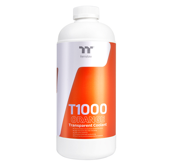 Thermaltake T1000 Transparent Coolant Orange 1000ml (CL-W245-OS00OR-A)