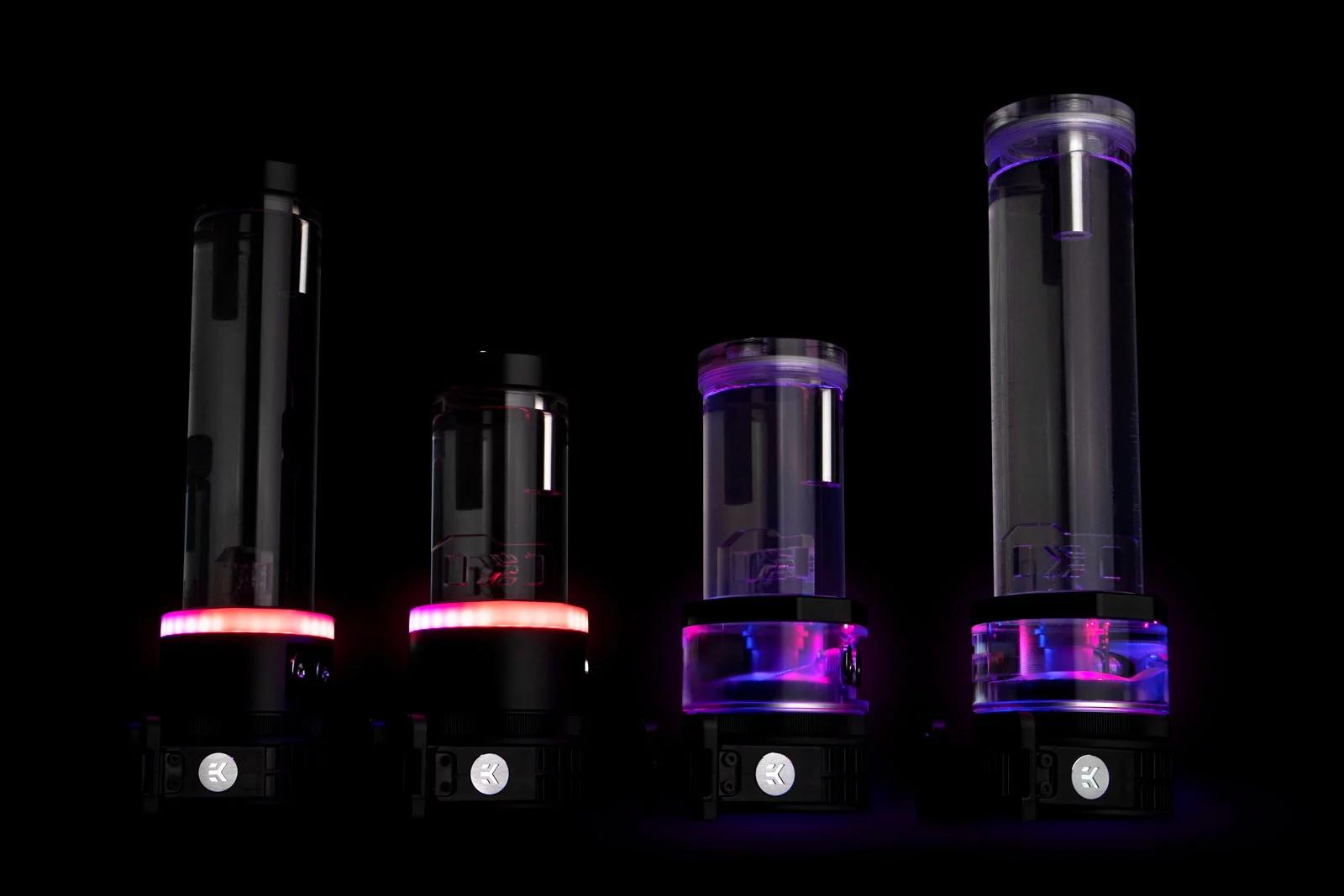 EK Water Blocks EK-Quantum Kinetic TBE 200 D5 PWM D-RGB - Plexi