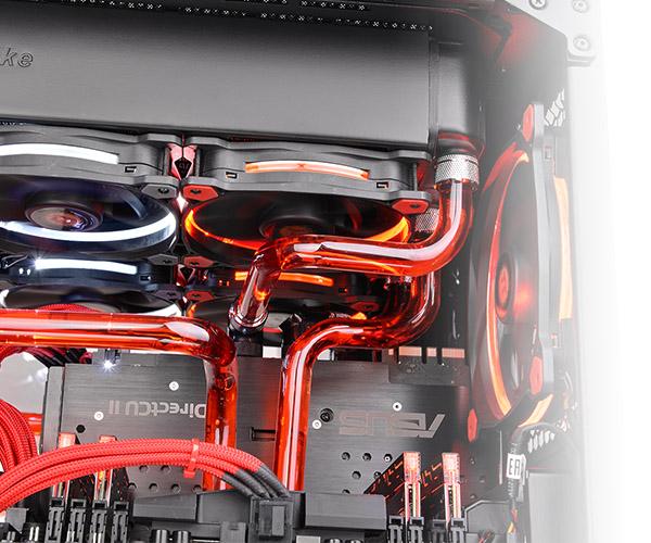 Thermaltake V-Tubler PETG Tube 16mm OD 500mm 4Pack (CL-W065-PL16TR-A)