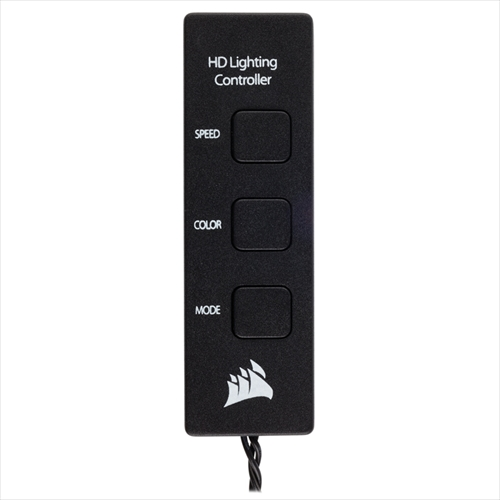 CORSAIR HD120 RGB LED Controller (CO-9050066-WW) ファン1個+コントローラ+ハブ セット