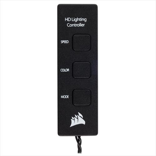 CORSAIR HD120 RGB LED Three Pack (CO-9050067-WW) ファン3個+コントローラ+ハブ セット