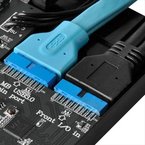 SilverStone FPS01-C スリム光学ドライブベイ固定マルチ機能パネル (SST-FPS01-C)