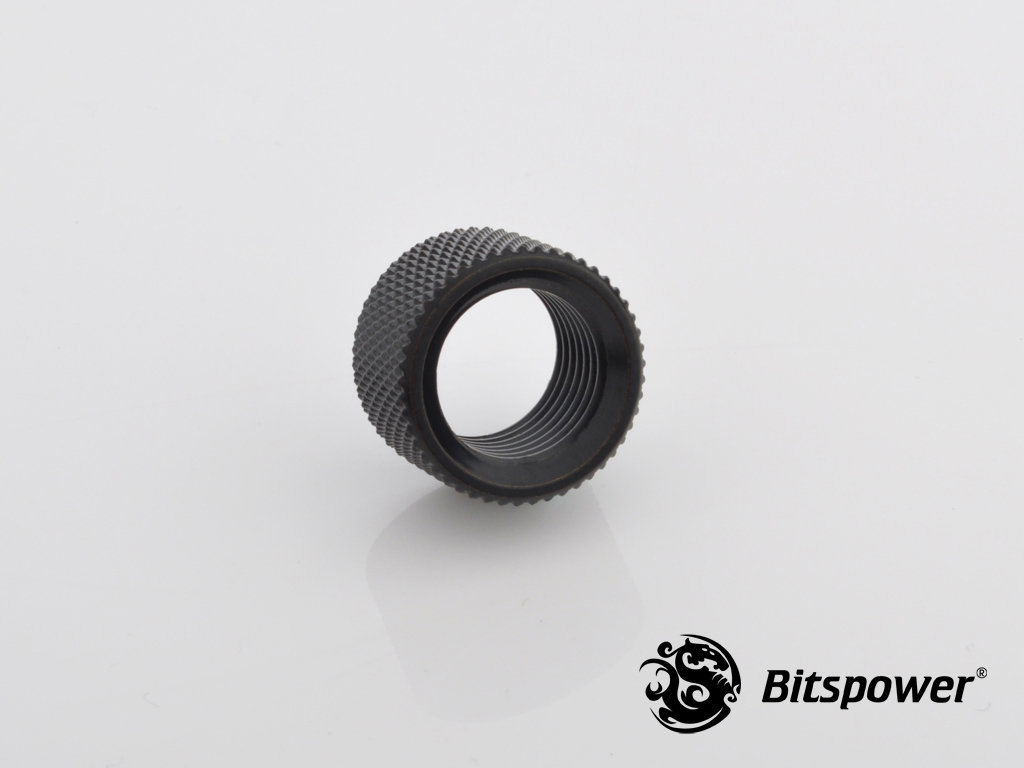 "Bitspower G1/4"" Matt Black Multi-Transfer Adapter"