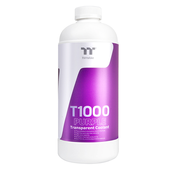 Thermaltake T1000 Transparent Coolant Purple 1000ml (CL-W245-OS00PL-A)