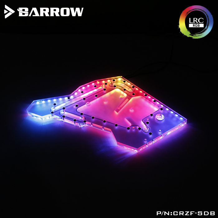 Barrow LRC2.0 water channel integrated board for COUGAR CONQUEROR open type case
