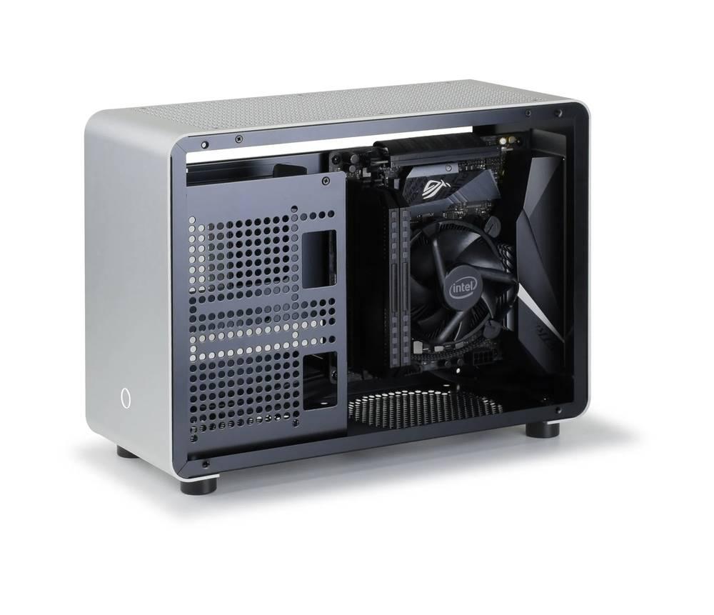 GEEEK G1 SE MINI-ITX CASE Silver