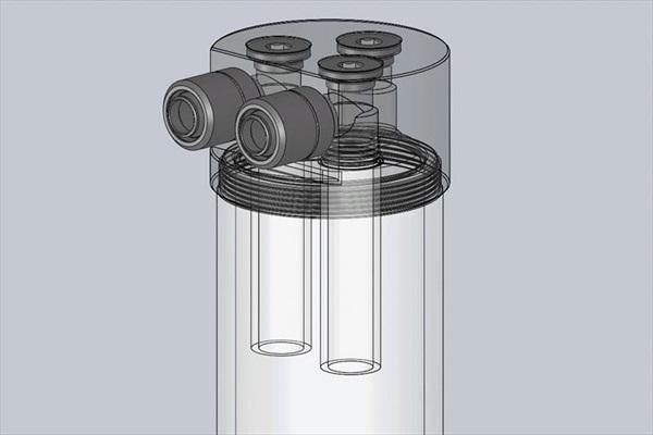 EK Water Blocks EK-RES X3 - Internal Tube 12/16 40mm