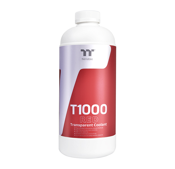 Thermaltake T1000 Transparent Coolant Red 1000ml (CL-W245-OS00RE-A)