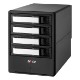 areca ARC-8050T3U-4 Thunderbolt3/USB3.2 Gen2(10Gbps) HDD4台搭載可能