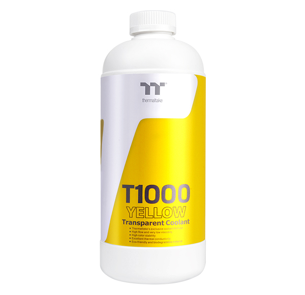 Thermaltake T1000 Transparent Coolant Yellow 1000ml (CL-W245-OS00YE-A)