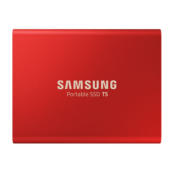SAMSUNG MU-PA1T0R/IT 1TB Portable SSD T5 赤 シリーズ