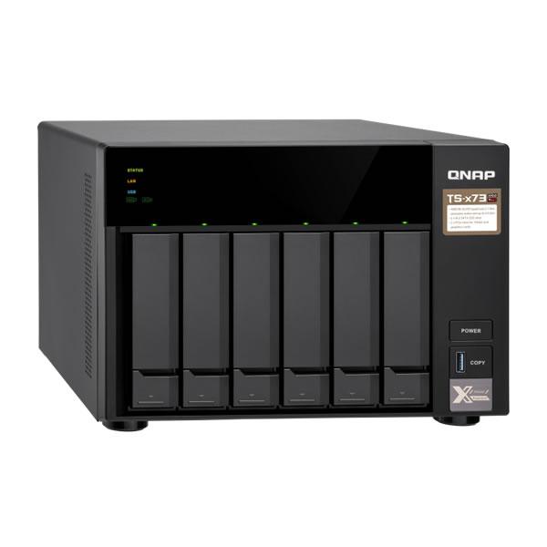 QNAP TS-673-4G 2.5/3.5インチ 6台搭載可能 取り寄せ