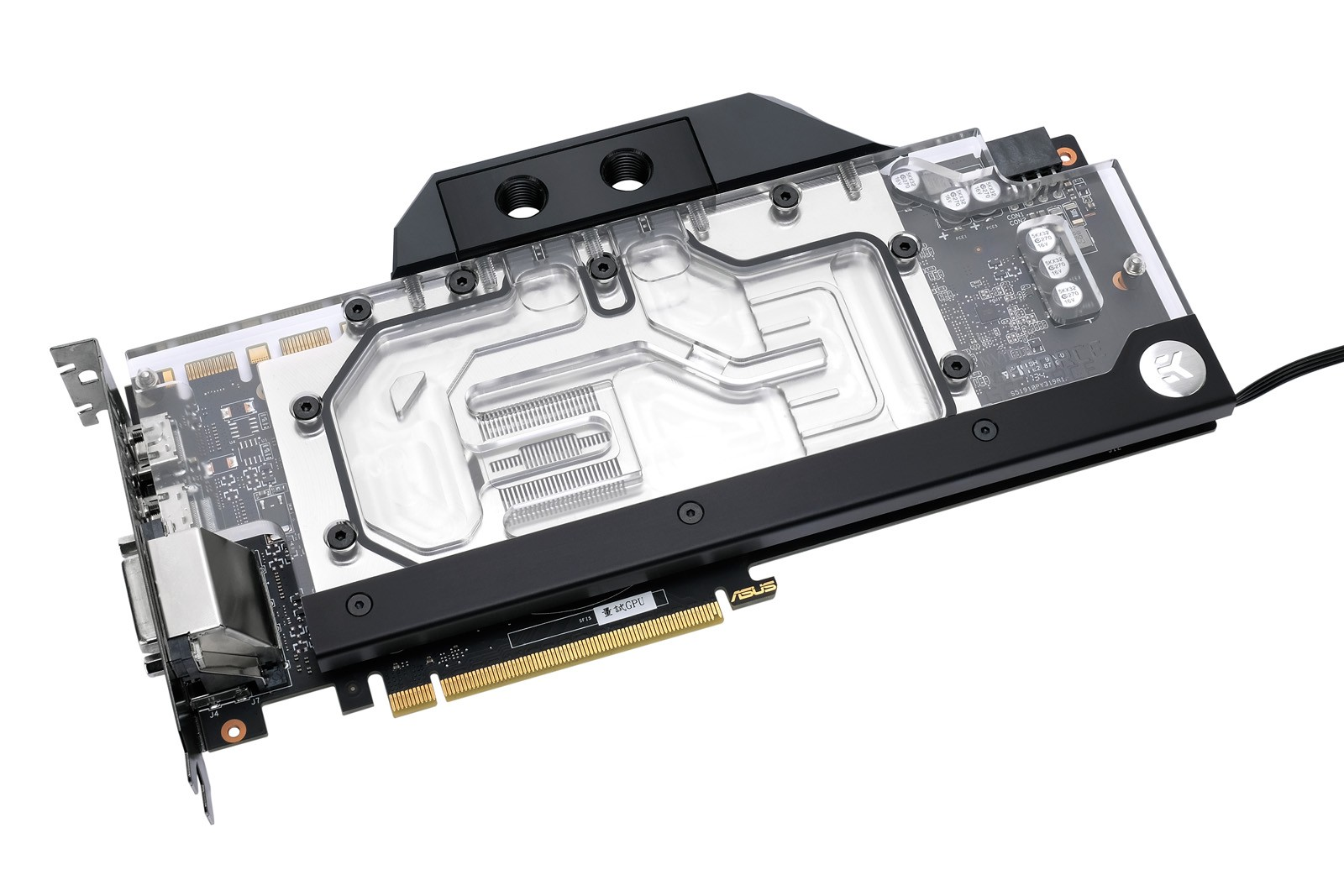 EK Water Blocks EK-FC1070 GTX Ti ASUS RGB - Nickel