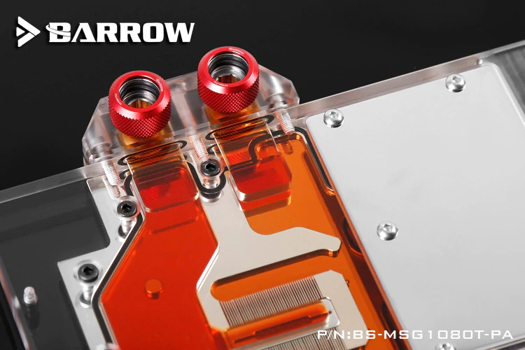 BARROW GPU Water Block(msi GTX1080Ti Gaming X)Aurora