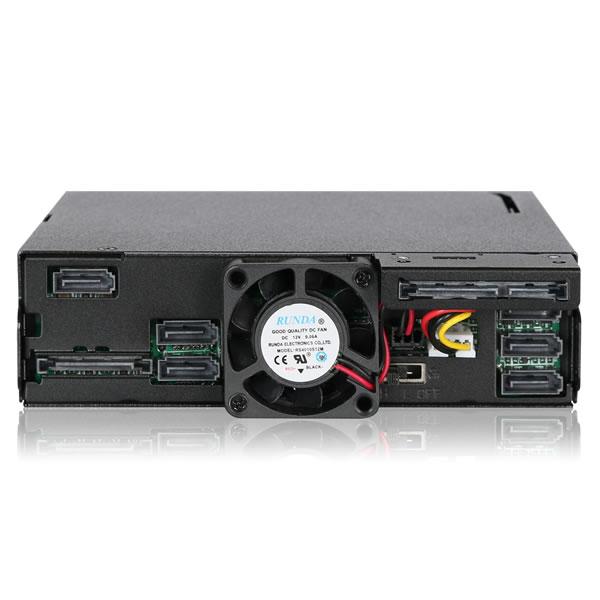 ToughArmor MB606SPO-B 2.5インチHDD6台+ウルトラスリム光学ドライブ 5インチベイ用 ICYDOCK