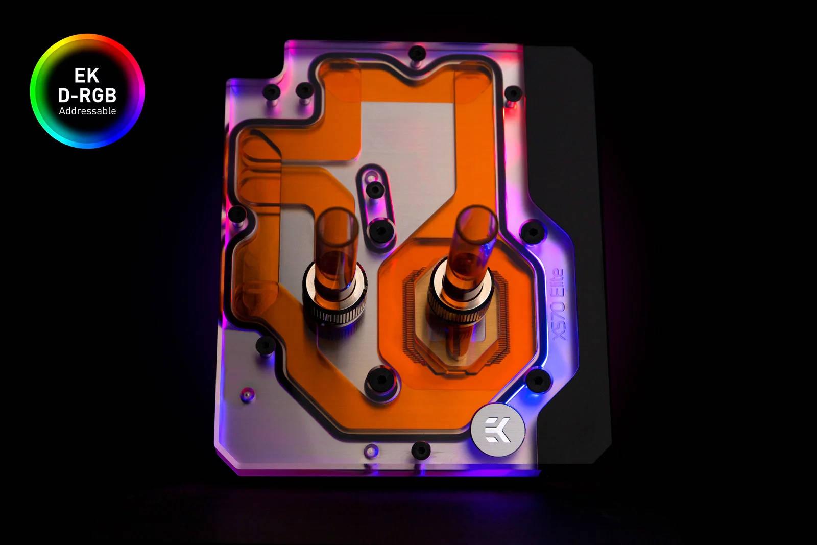 EK WaterBlocks EK-Quantum Momentum Aorus X570 Elite D-RGB - Plexi