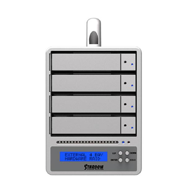 STARDOM SR4-SB3+ 4段 eSATA/USB3.0