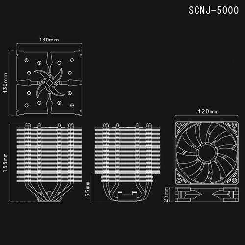 サイズ(SCYTHE) 忍者 五 (SCNJ-5000)