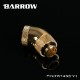 BARROW 45°Dual Rotary Adapter ( Male to Female ) Gold