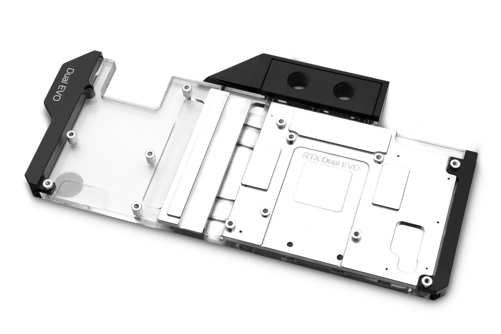 EK WaterBlocks EK-Quantum Vector Dual Evo RTX 2070/2080 D-RGB - Nickel + Plexi