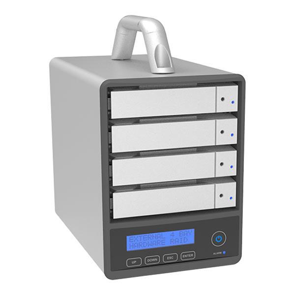 STARDOM SR4-SB31+ 4段 USB3.1 Gen1 Type C/eSATA