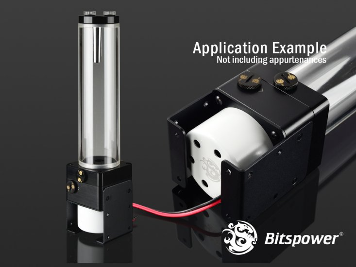【お取寄商品:通常納期約1週間】Bitspower Premium Dual / Single D5 Top Upgrade Kit 150 (POM Version)