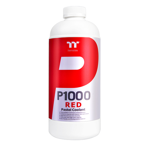 Thermaltake P1000 Pastel Coolant Red 1000ml (CL-W246-OS00RE-A)