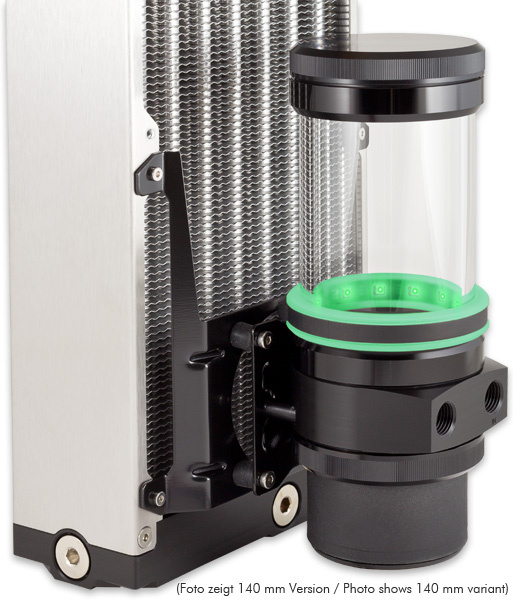 aquacomputer Mounting bracket 120 mm fan mount for ULTITUBE D5 reservoir