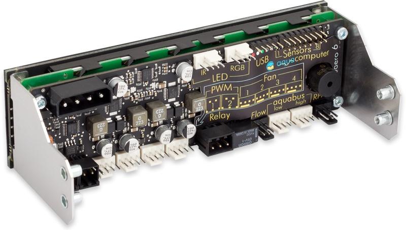 aquacomputer aquaero 6 XT black/blue USB fan controller