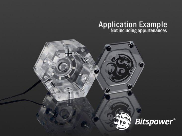 Bitspower Water Tank Hexagon Digital RGB Add-On