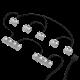 NZXT HUE 2 Cable Comb (AH-2PCC1-01)
