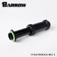 "BARROW Dual G1/4"" Adjustable Aqua Link Pipe (41-69MM) Black"