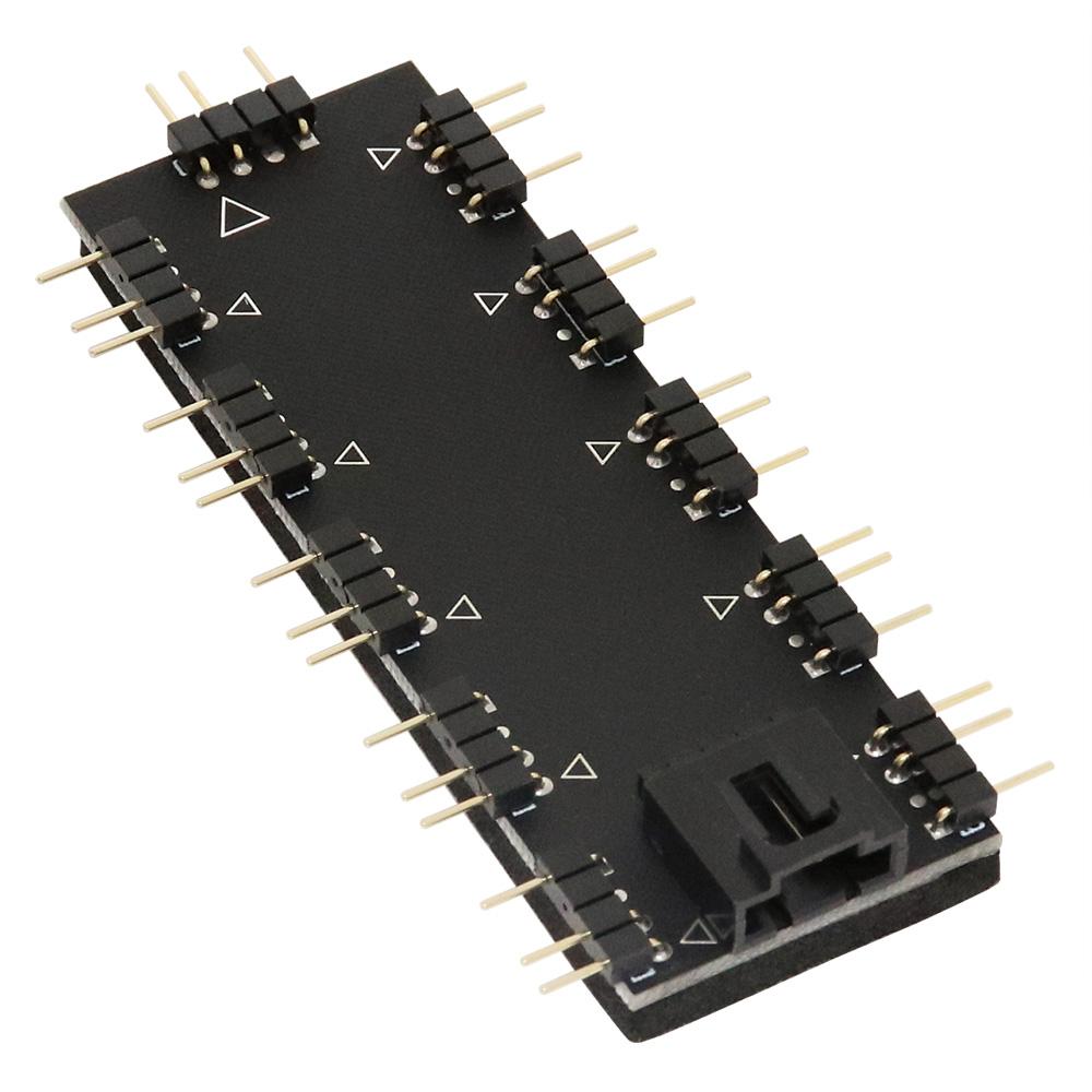 AINEX RLD-SPLITXPD10 アドレサブルLED用10分岐基板