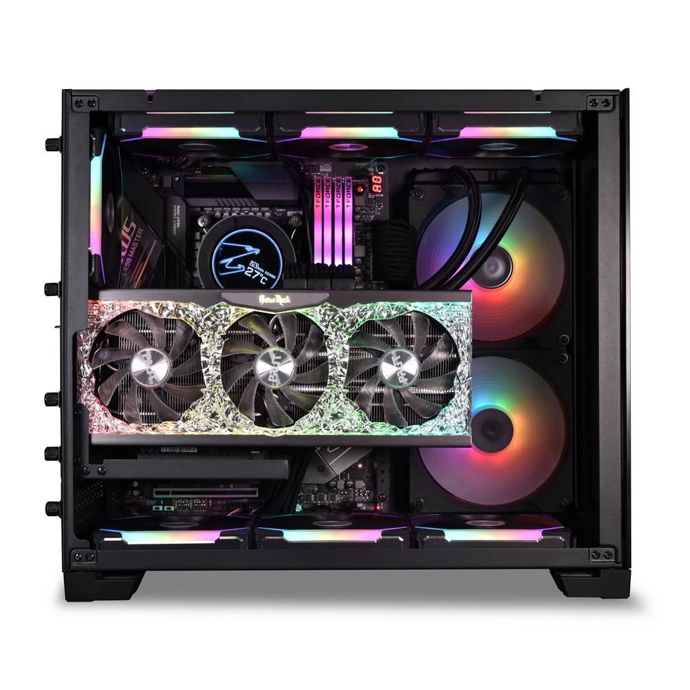 【取寄せ商品:要納期確認】 Lian Li O11D MINI PCIe 3.0 VERTICAL GPU BRACKET KIT Black