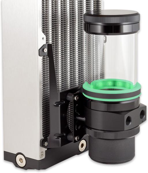 aquacomputer Mounting bracket 140 mm fan mount for ULTITUBE D5 reservoir