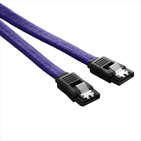 CableMod ModFlex SATA 3 Cable 60cm - PURPLE (CM-CAB-SATA-60KP-R)
