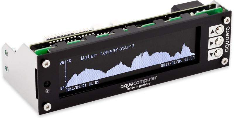 aquacomputer aquaero 6 PRO black USB fan controller