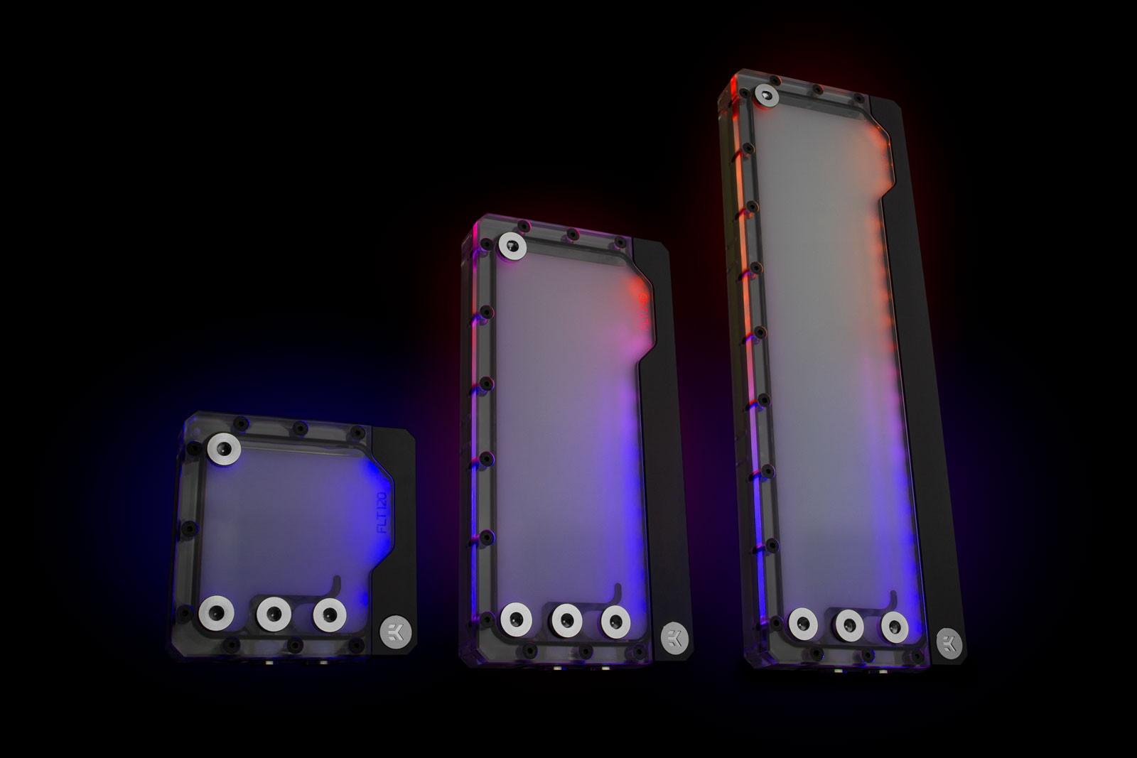 EK Water Blocks EK-Quantum Kinetic FLT 240 D5 PWM D-RGB - Plexi