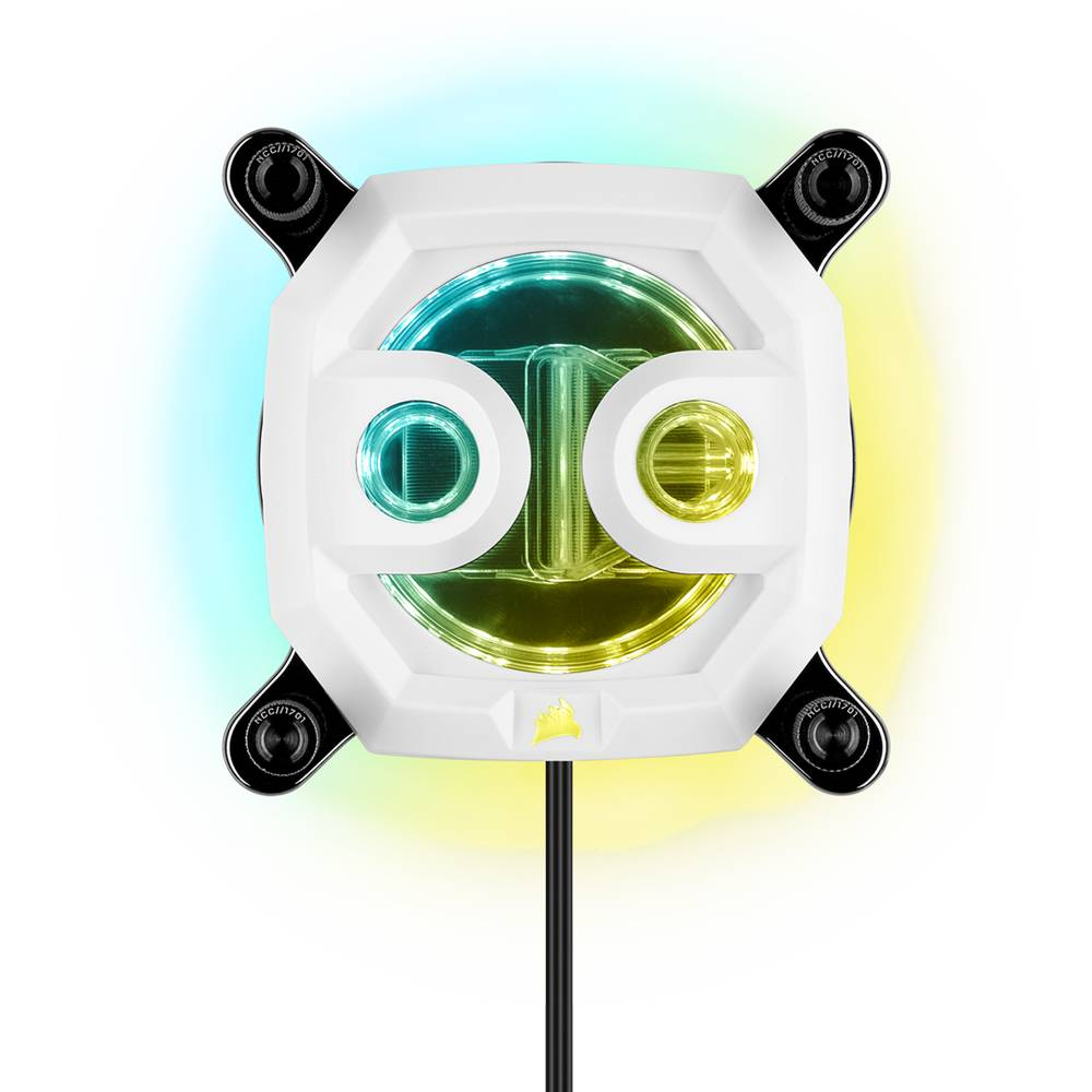 CORSAIR Hydro X Series XC7 RGB CPU Water Block Gen2 (1200/AM4) - White